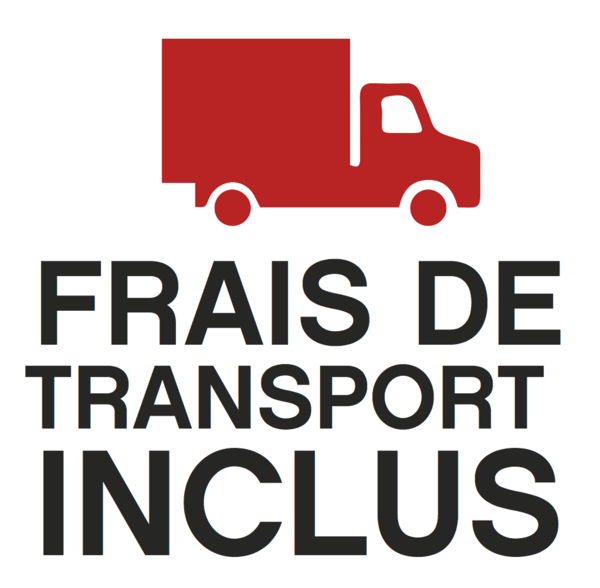 Frais de transport inclus